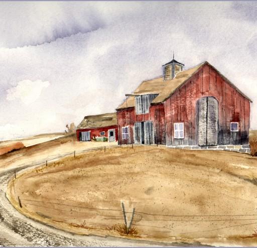 Berkshire Barn in Red