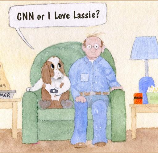 CNN or I Love Lassie?