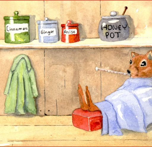 Get Well Squirrel