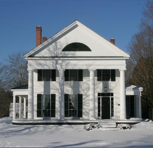 Main Street Colonial Winter
