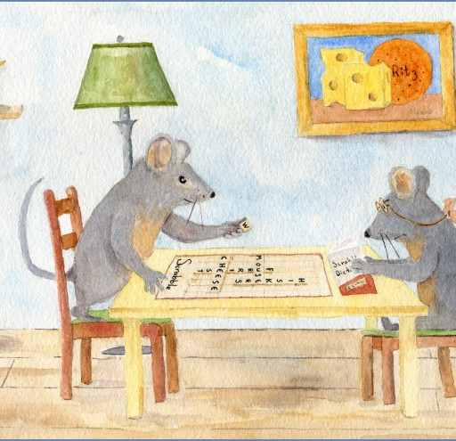 Mouses at Scrabble
