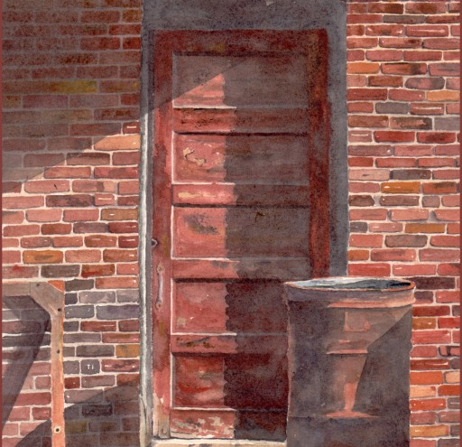 The Door in the Shadow